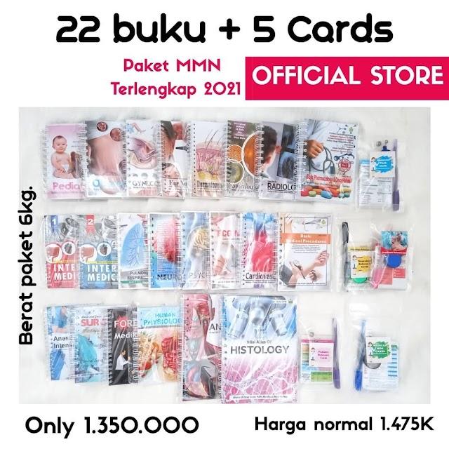 Paket MMN (Medical Mini Notes) 22 Buku + 5 Card