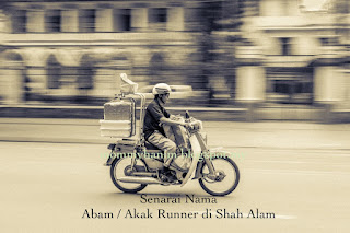 Senarai Nama Abam / Akak Runner Based Shah Alam (KL pun boleh)