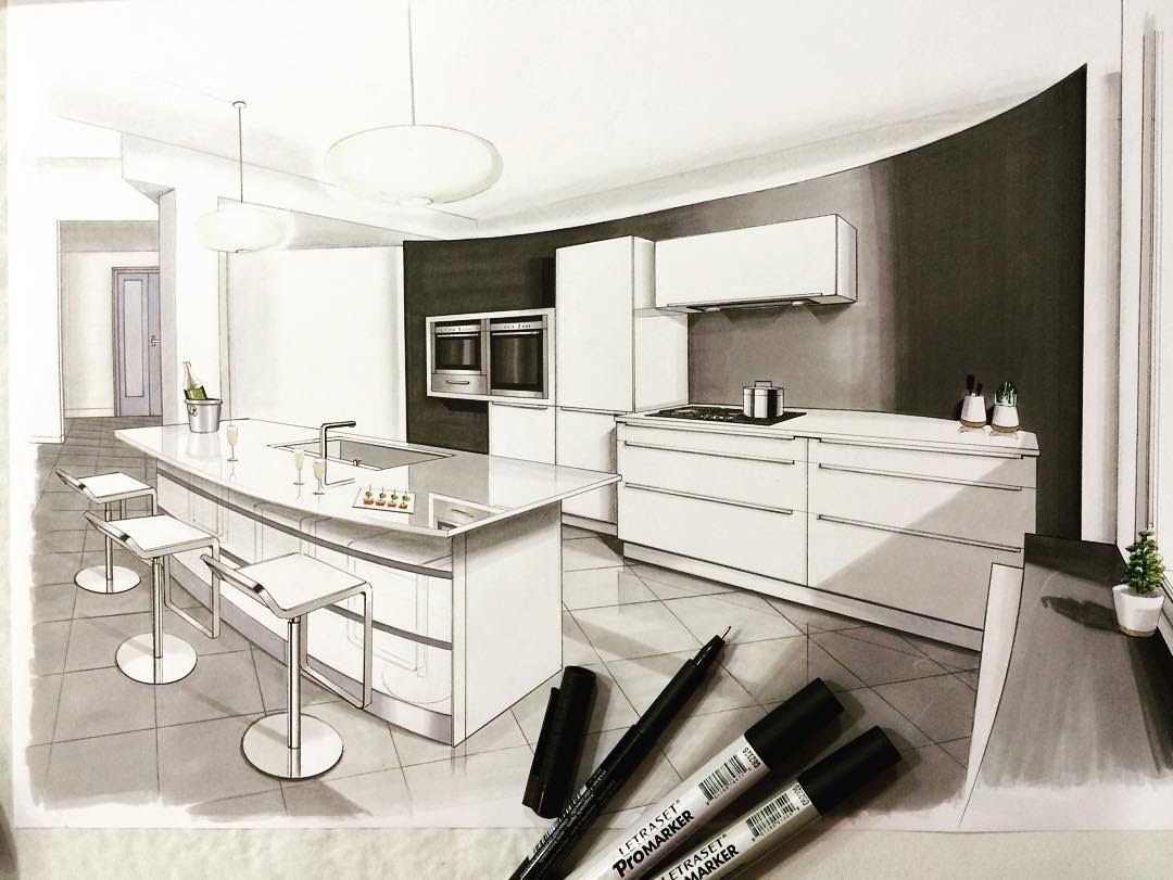 13-Kitchen-Jean-Rémi-Desbrousses-A-Passion-for-Interior-Design-Drawings-www-designstack-co