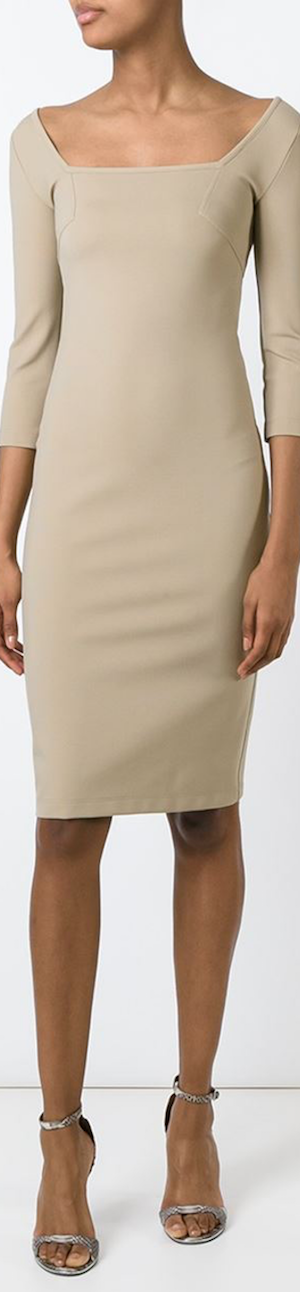 Givenchy Fitted Midi Dress