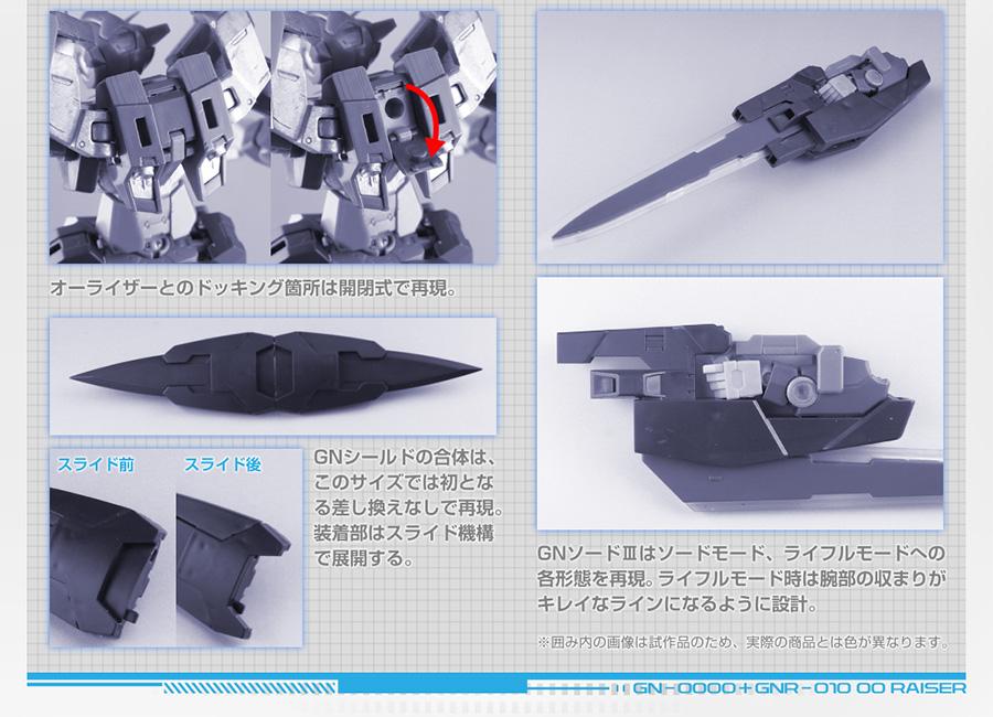 Metal Robot Damashii 00 Raiser + GN Sword III - Release Info