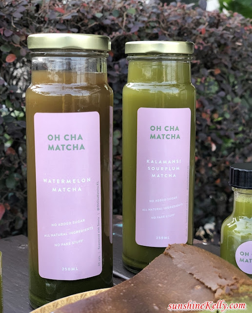 Oh Cha Matcha, Immunity Booster Shots, Matcha Shots, Matcha Drinks, Matcha Burnt Cheesecake, Food