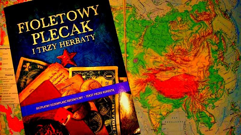 """Łukasz Szopa, """"Fioletowy plecak i trzy herbaty"""""""