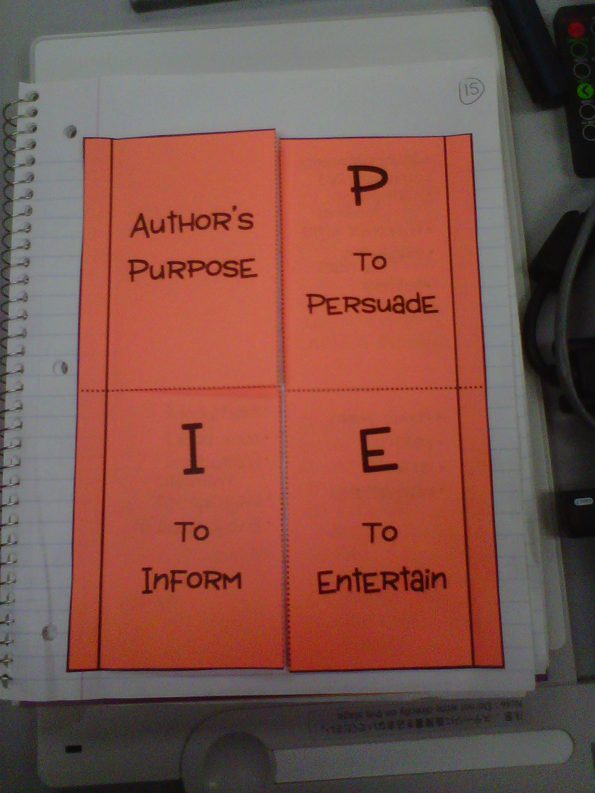 Author S Purpose Context Clues Oh My