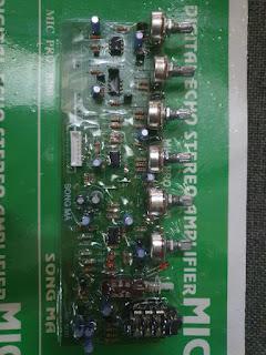 Combo mạch chỉnh pre mặt trước amply