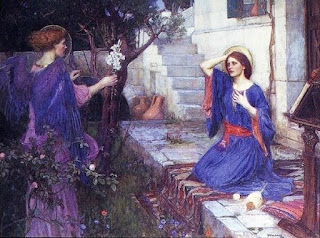 A Anunciação (William Waterhouse)