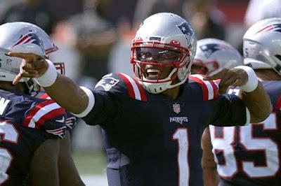 Cam Newton Quarterback Patriots 2020