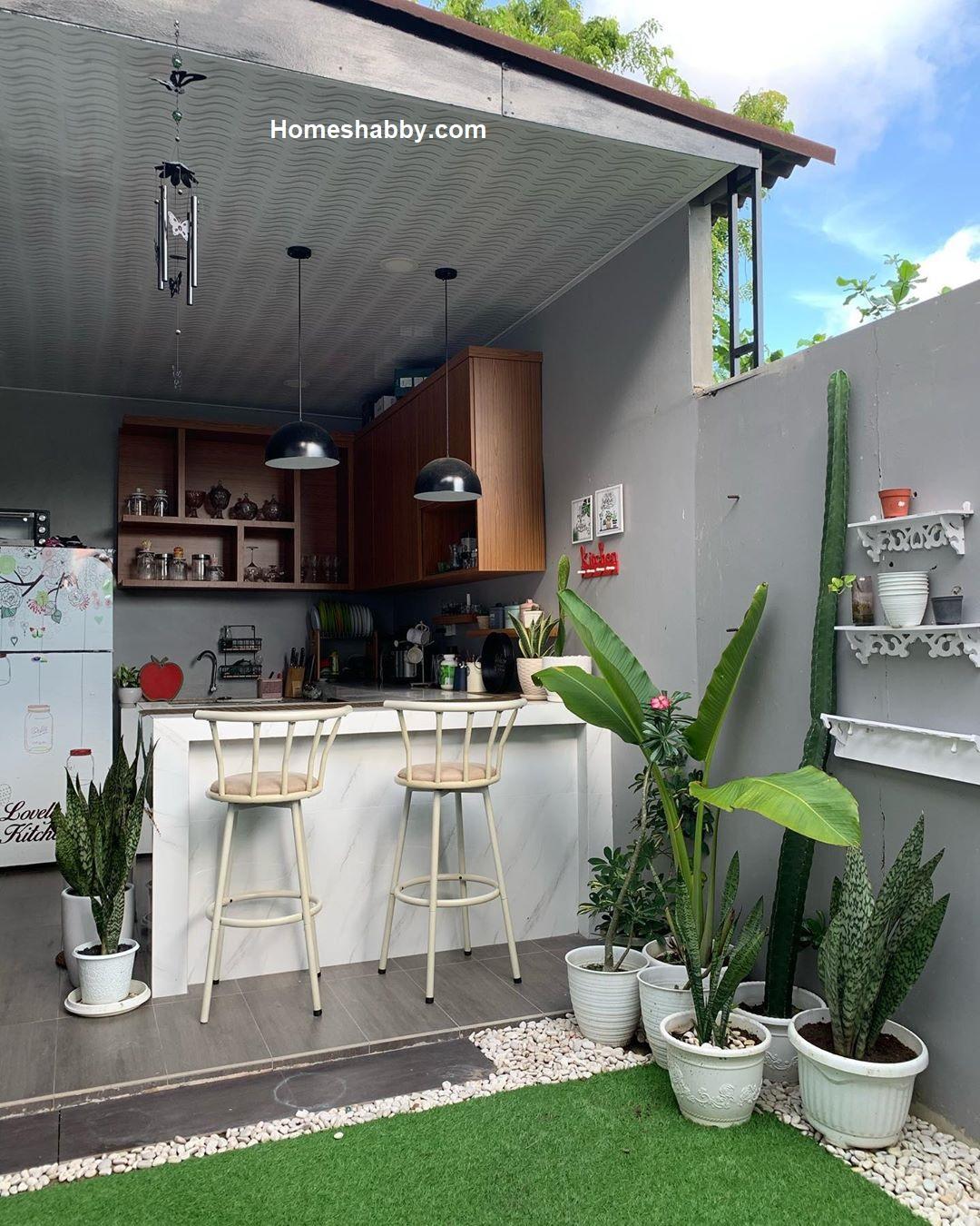 Inspirasi Desain Dapur Minimalis Terbuka Bikin Memasak Lebih Semangat Homeshabby Com Design Home Plans Home Decorating And Interior Design