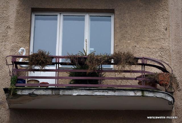 balkon Warszawa Warsaw Mokotów Mokotow ulice Mokotowa architektura kamienica