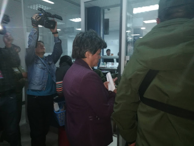 Pilar Guzmán se dio a conocer como la única persona que se preocupaba por Zapata, su
