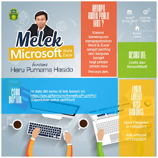Warga KEMASS Melek Microsoft