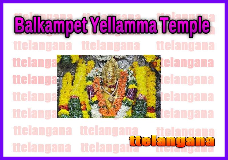 Balkampet Yellamma Temple Hyderabad Telangana