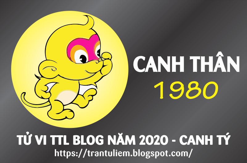 TỬ VI TUỔI CANH THÂN 1980 NĂM 2020