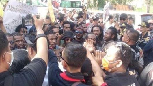 Dibubarkan Paksa, Ternyata Ini Tujuan Demo Mahasiswa Papua di Bali
