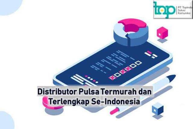 Distributor Pulsa Termurah dan Terlengkap Se-Indonesia