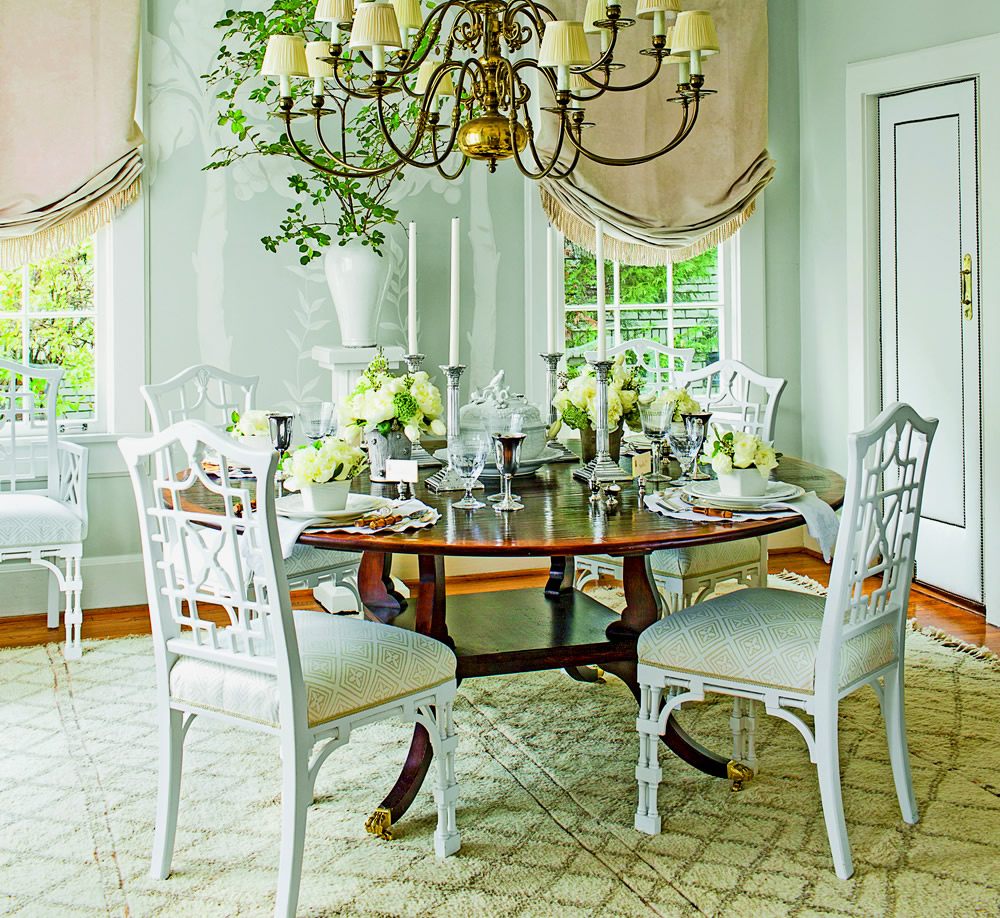 Chinoiserie Chic: The Chinoiserie Dining Room