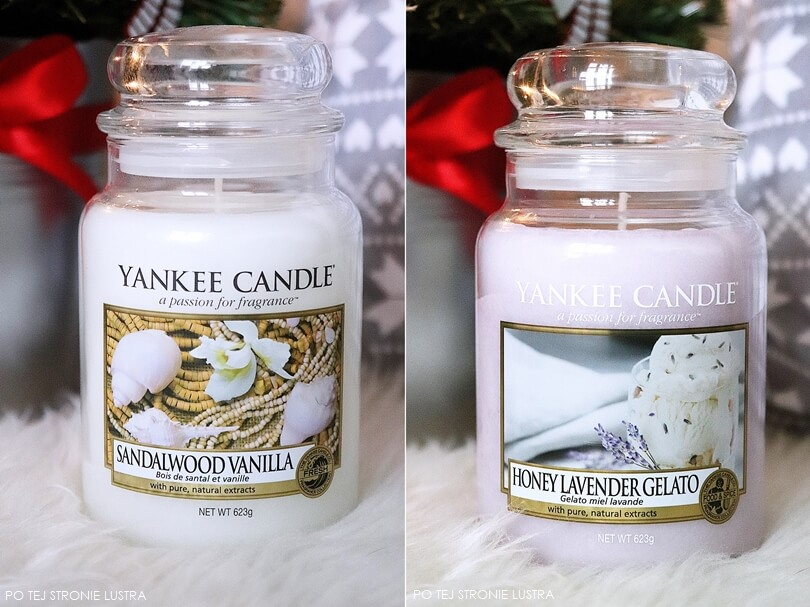 sandalwood vanilla i honey lavender gelato yankee candle