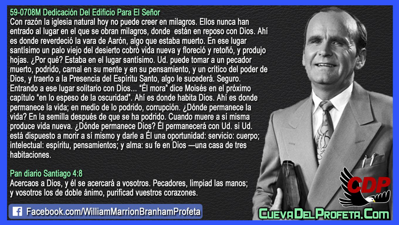 Si Ud. está dispuesto a morir a sí mismo - William Branham en Español
