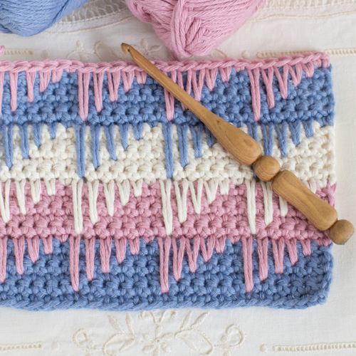 Crochet The Spike Stitch - Easy Tutorial
