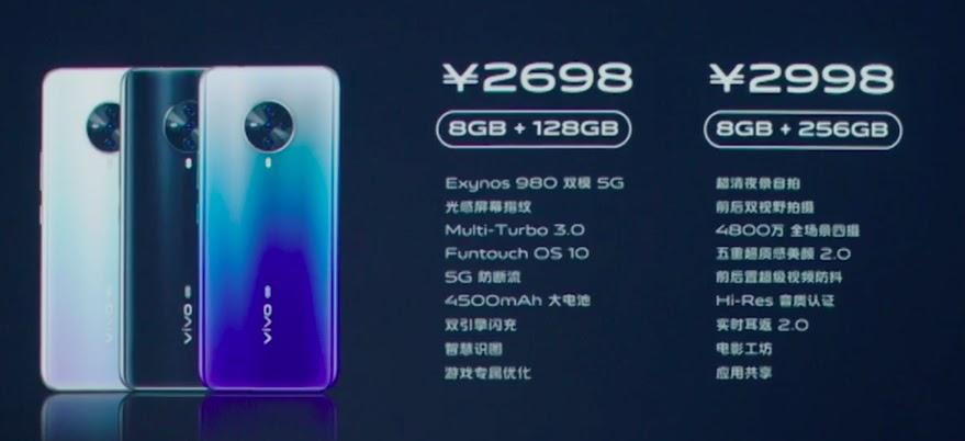 Kamera Vivo S6