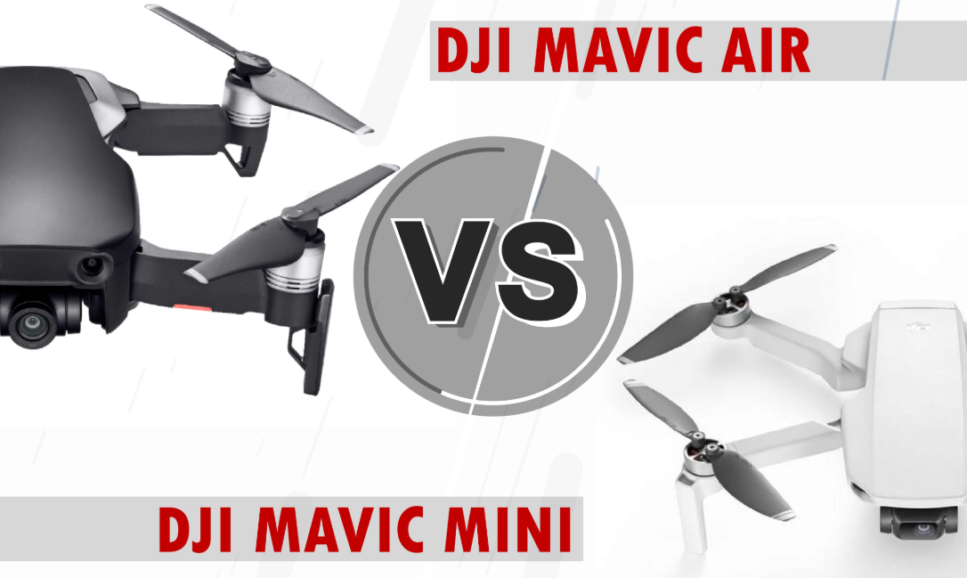 Dji Mavic Mini Vs Mavic Air Which Drone Is Correct For You Affordable Drones
