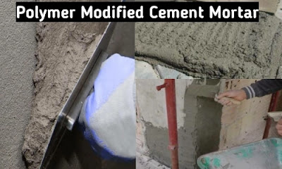 polymer modified cement mortar
