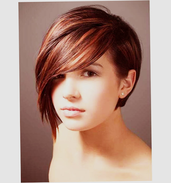 image of Short Hairstyles For Round Faces And Thin Hair 2016