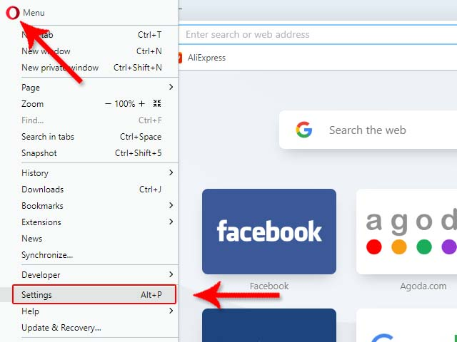 How to Active Built-in VPN in the Opera Browser