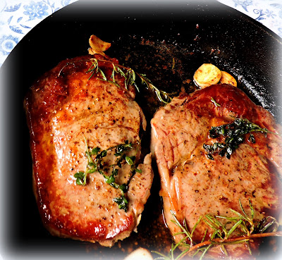 Butter, Herb & Garlic  Basted Steaks