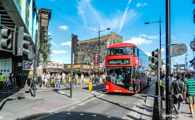 Transporte em Londres - ônibus
