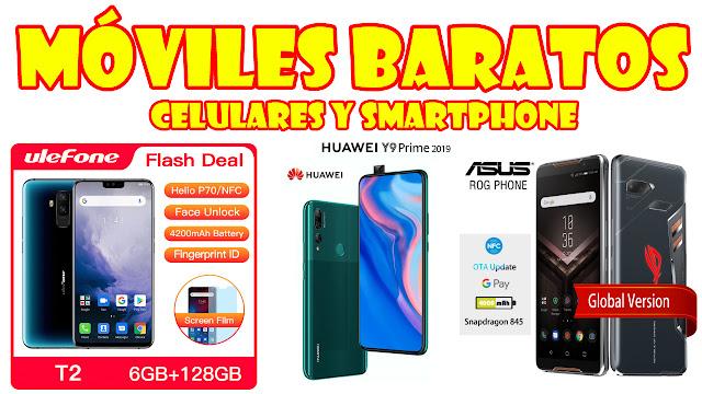 ALIEXPRES, móviles, smartphone y celulares BARATOS.