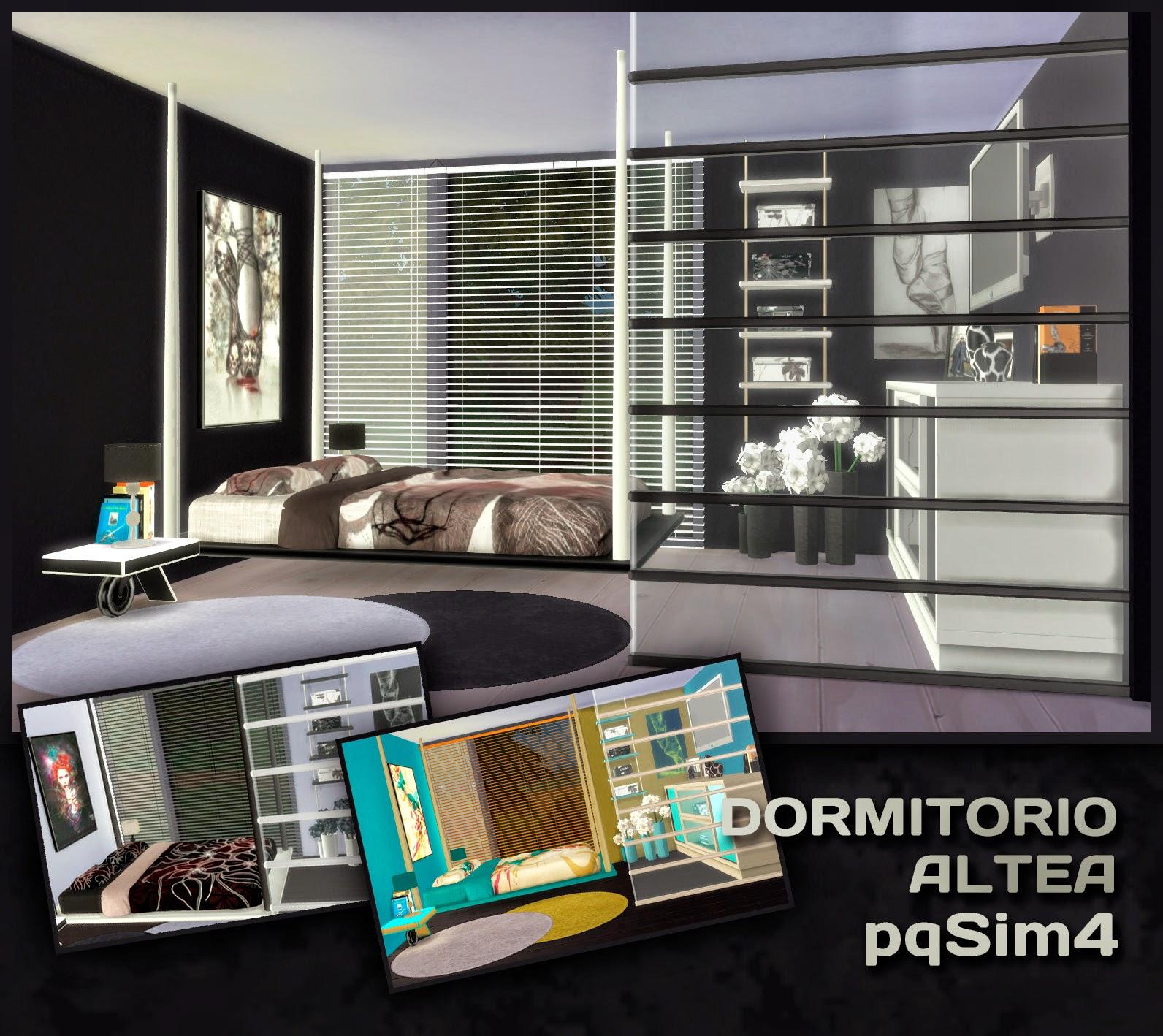 Dormitorio altea sims 4 custom content for Dormitorio sims 4