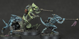 Starblood Stalkers - Xepic, Otapatl, Tok (close-ups)