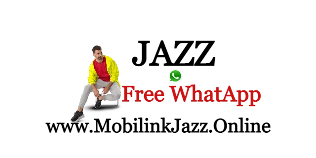 How to Use free WhatsApp With Jazz | Mobilink 2021