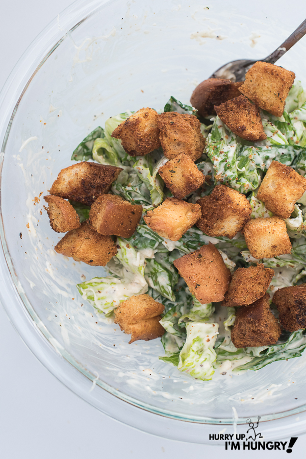 How do you make croutons in an air fryer?
