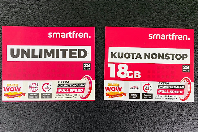 Paket Unlimited dan Kuota Nonstop