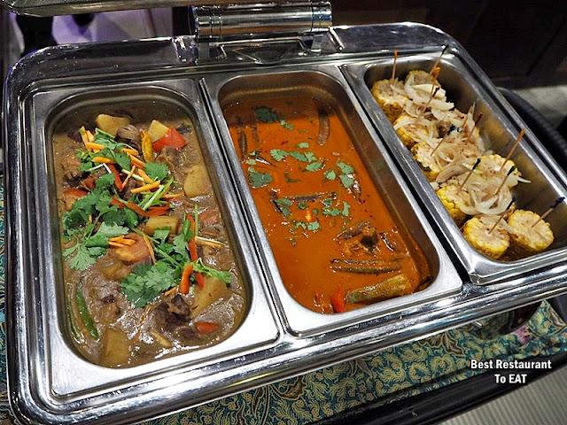 Kontiki Buffet Menu - Malaysian Dishes