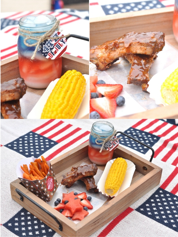 Americana 4th July Party BBQ Party - via BirdsParty.com