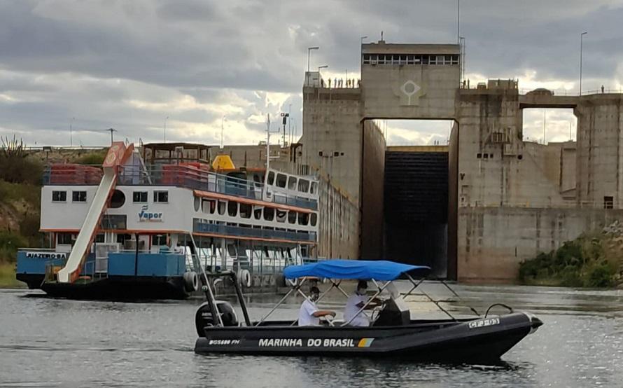 Marinha participa de ação para retomada das atividades da Eclusa de Sobradinho (BA) - Portal Spy Notícias Juazeiro Petrolina