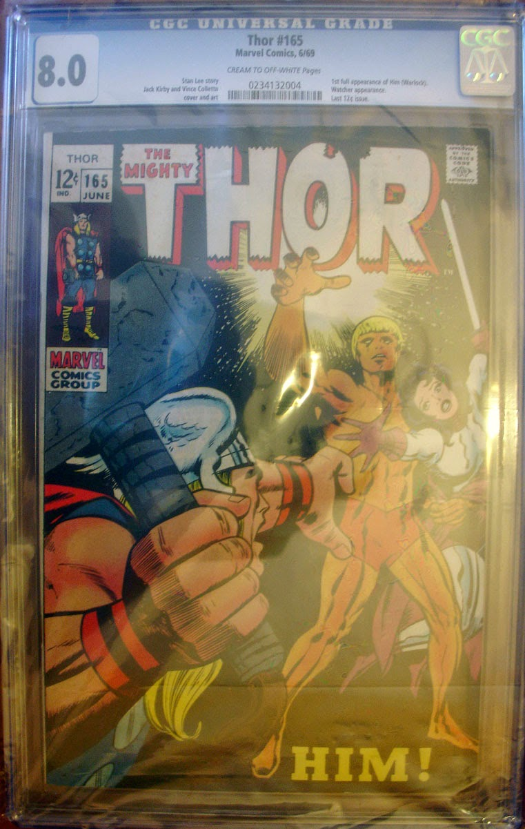 http://www.totalcomicmayhem.com/2014/06/the-mighty-thor-165-cgc-80-vf.html