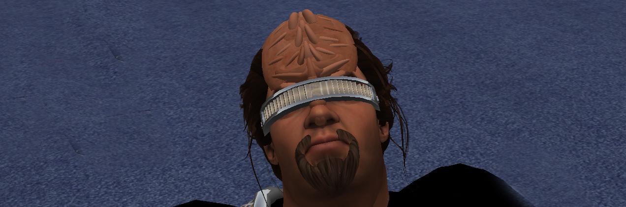 Geordi La Forge style visor