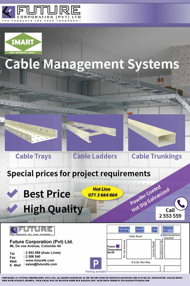 Future Corporation - High Quality Cable Management System