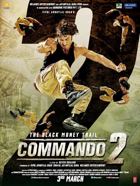 Vidyut Jammwal Commando2 New Poster