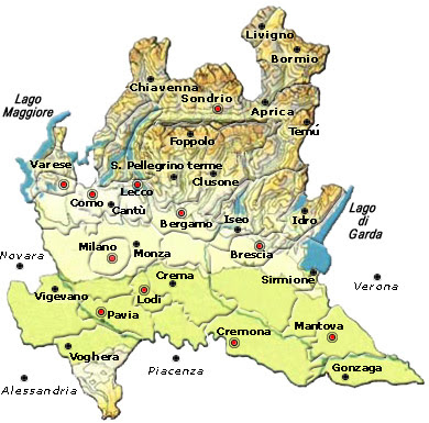 Cartina Muta Province Liguria