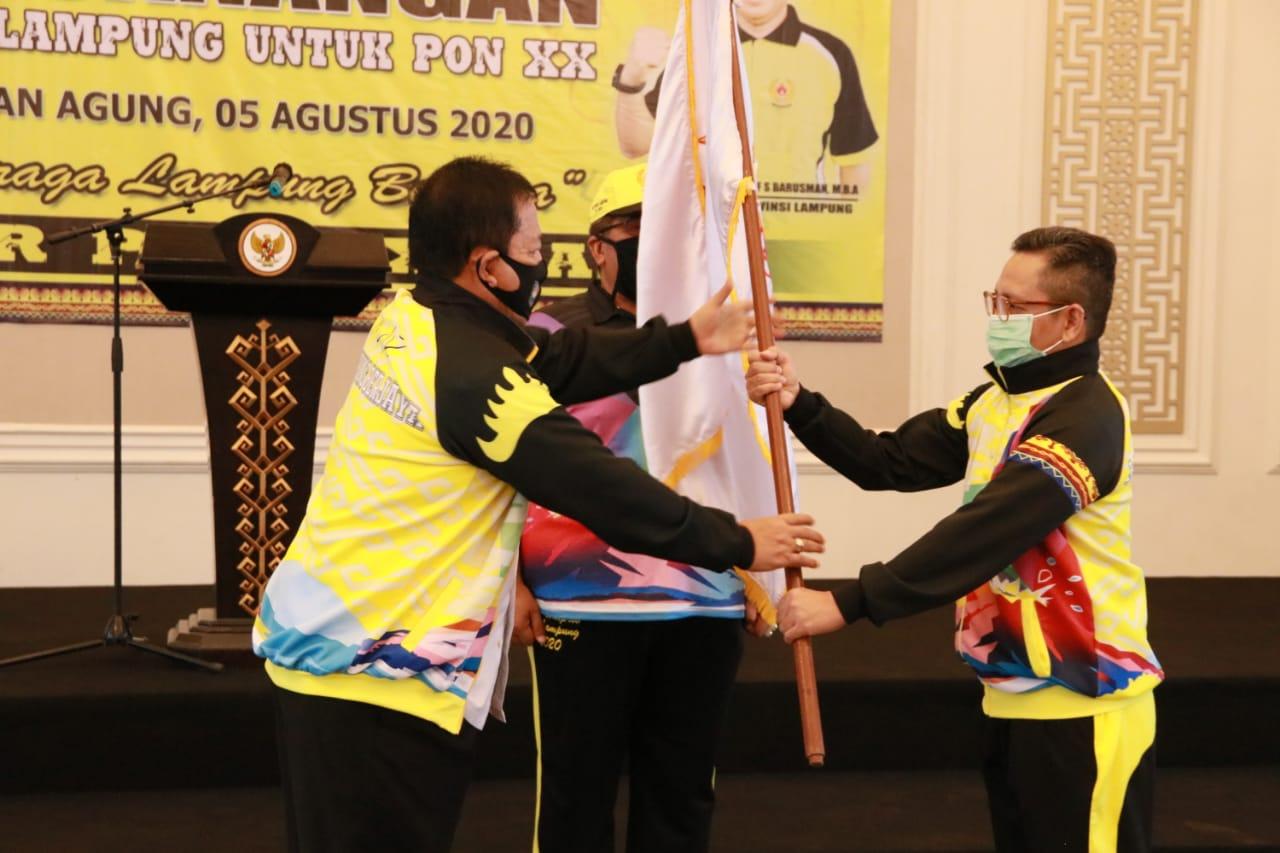 Gubernur Arinal Djunaidi Canangkan Atlet Lampung untuk PON XX Tahun 2021