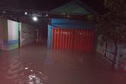 Cuaca Buruk Dan Hujan Lebat, Beberapa Rumah Di Desa Landah Praya Timur Terendam Banjir