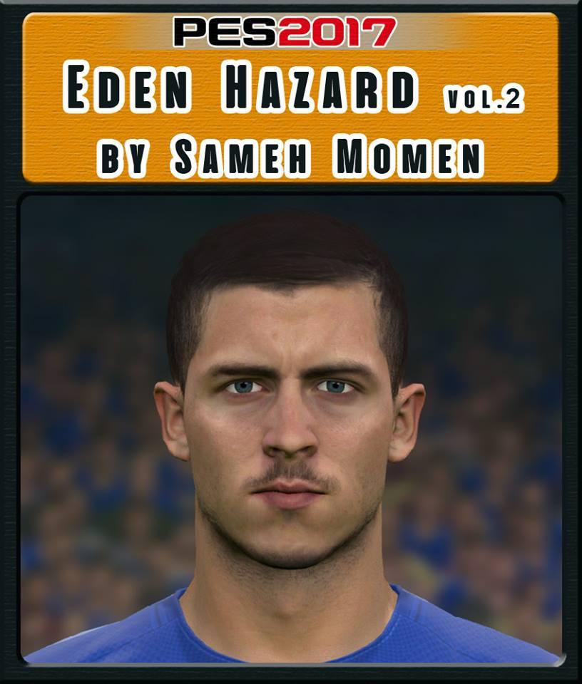 PES 2017 Eden Hazard Face by Sameh Momen