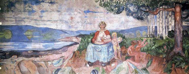 Эдвард Мунк - Альма Матер. 1916