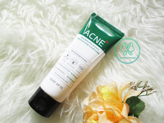 AHA BHA PHA 30 Days Miracle Acne Clear Foam