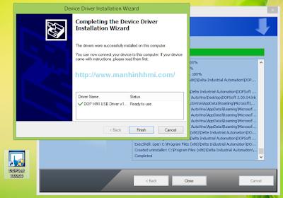 Phần mềm DOPSoft lập trình cho màn hình cảm ứng HMI Delta DOP-B Series